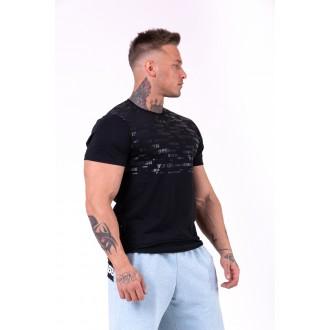 Nebbia tričko More than basic 145 - Čierne
