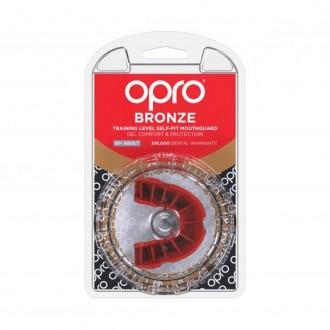 Opro Bronze Chránič zubov - Červený