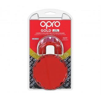 Opro Gold Braces Chránič na zuby - Červený