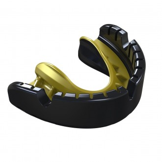 Opro Gold Braces Chránič na zuby - Čierny