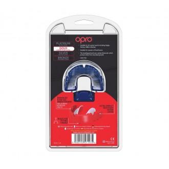 Opro Gold Braces Chránič na zuby - Modrý