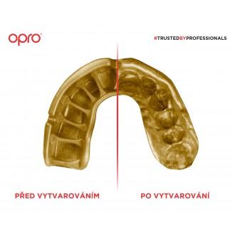 Opro POWER FIT chránič zubov - Česká trikolóra