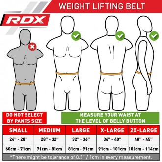 """RDX 4"""" kožený fitness opasok"""