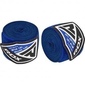 RDX 4.5m Elastické boxerské bandáže - Modré