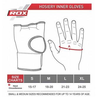 RDX Boxerské Gélové bandáže - Čierne