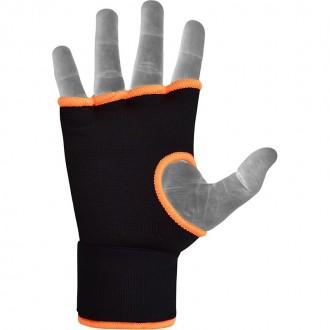 RDX Boxerské Gélové bandáže - Oranžové