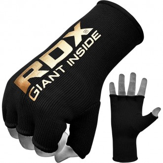 RDX Elastická bandáž na ruky - Čierne