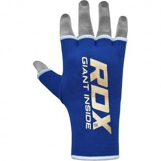 RDX Elastická bandáž na ruky - Modrá
