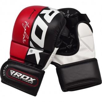 RDX T6 MMA Rukavice Červené