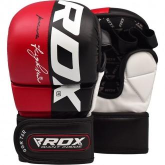RDX T6 MMA Rukavice - Červené