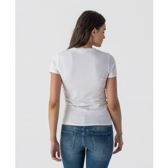 Retrojeans dámske tričko ARELY T-SHIRT - Biela