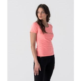 Retrojeans dámske tričko Romina - Koralová