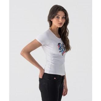 Retrojeans dámske tričko TONYA - Biela