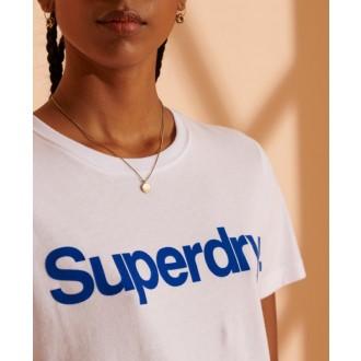 Superdry Dámske Tričko Core Logo Flock